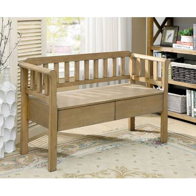 Magnificent Loon Peak Hearns Wood Storage Bench Reviews Wayfair Pabps2019 Chair Design Images Pabps2019Com