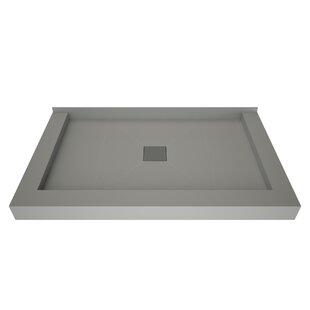 48 x 36 Triple Threshold Shower Base with Drain Top by Tile Redi