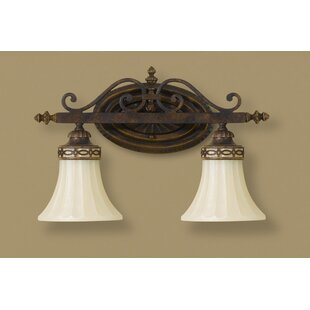 Linda 2-Light Vanity Light By Fleur De Lis Living Wall Lights