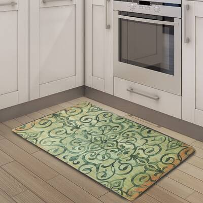 Emerillagasse Cook N Comfort Rustic Medallion Kitchen Mat Reviews