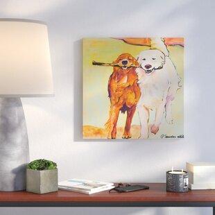 Stick With Meu0027 Framed On Canvas