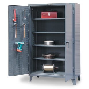 66H x 36W x 24D 2 Door Storage Cabinet by Strong Hold Products