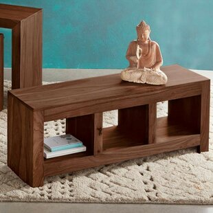 VivaTerra Wood Storage Bench