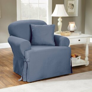 covers enz large b smokegray slipcover collections twill one slipcovers piece c essential essentialtwill chair surefit