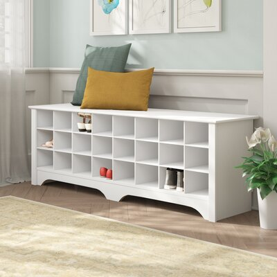 Ferryhill Wood Storage Bench