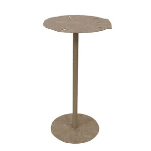 Read Reviews Ingham Sand Dollar Top End Table by Highland Dunes