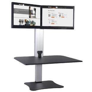 Symple Stuff Octavius Electric Dual Monitor Standing Desk