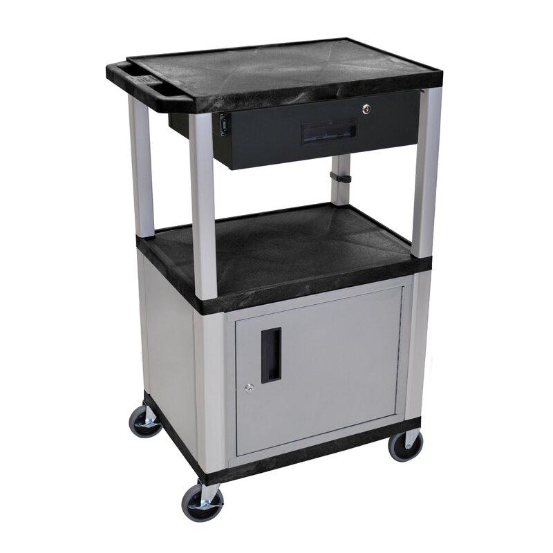 Offex Multipurpose Av Cart Wayfair
