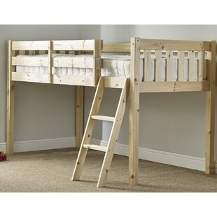Wybrone European Single Mid Sleeper Bed By Symple Stuff