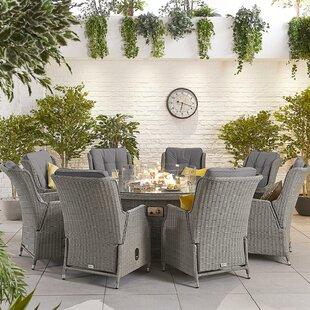 Melara 8 Seater Dining Set With Cushions Image