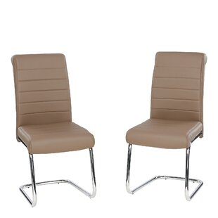 Myla Upholstered Dining Chair (Set Of 2) By Mercury Row