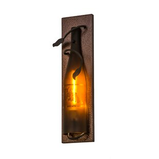 Meyda Tiffany Greenbriar Oak 1-Light Tuscan Vineyard Wall Sconce