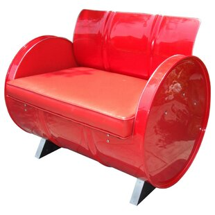 Very Red Armchair