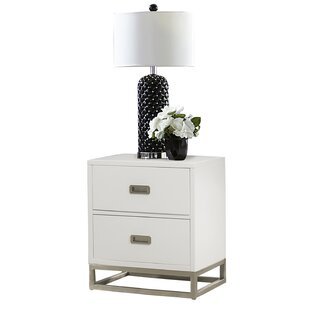 Angus 2 Drawer Nightstand