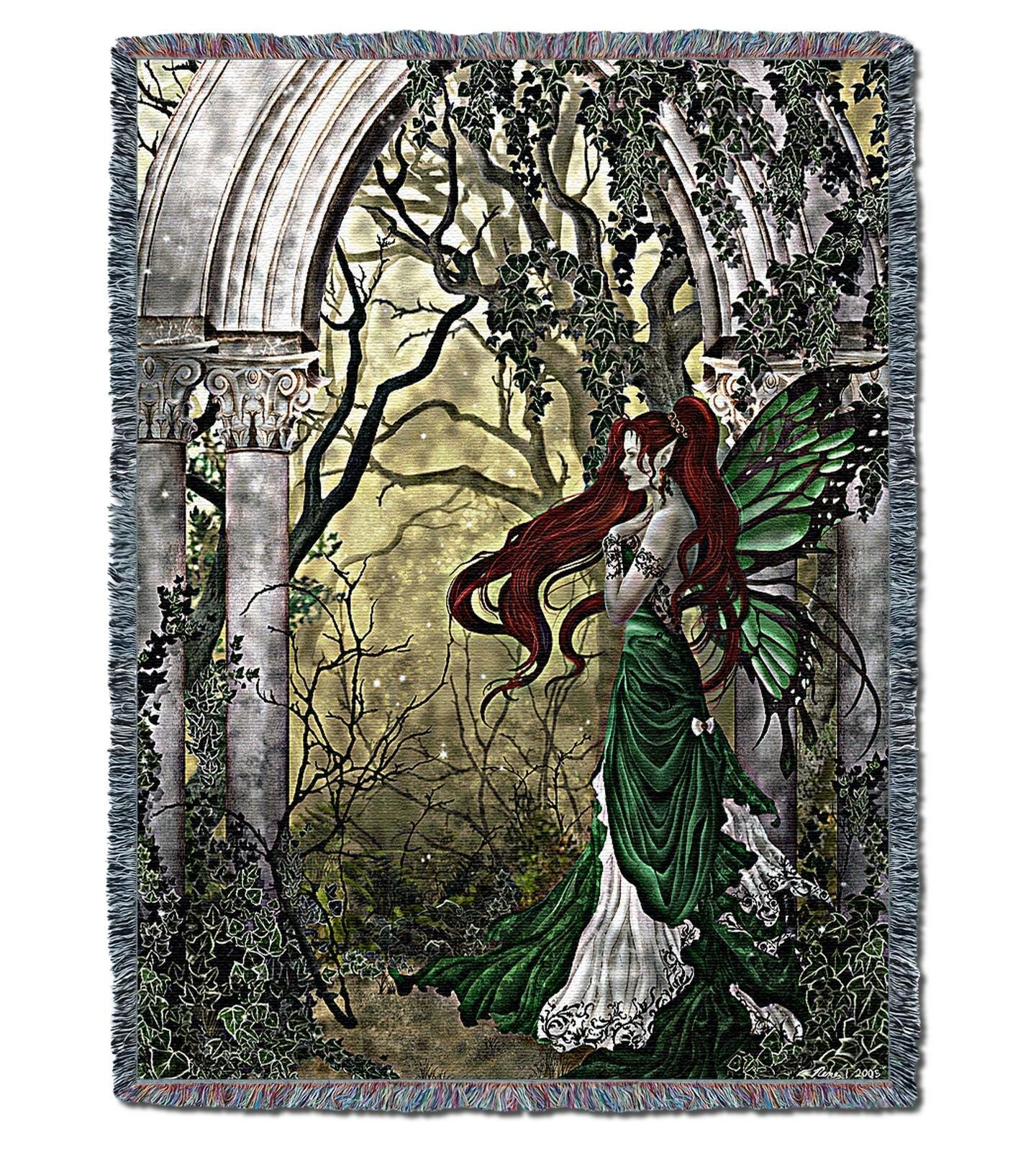 World Menagerie Tjard Fairy Cotton Blanket Wayfair