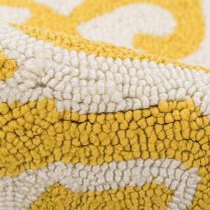 Peyton Yellow/White Outdoor Area Rug