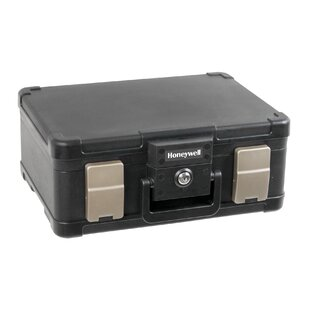 Honeywell Molded Fire & Water Resistant Safety Chest in Black
