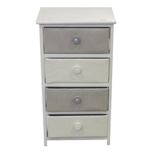Find a Lettie Wooden 4 Drawer Chest By August Grove