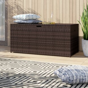 Belton Wicker Deck Box by Mercury Row