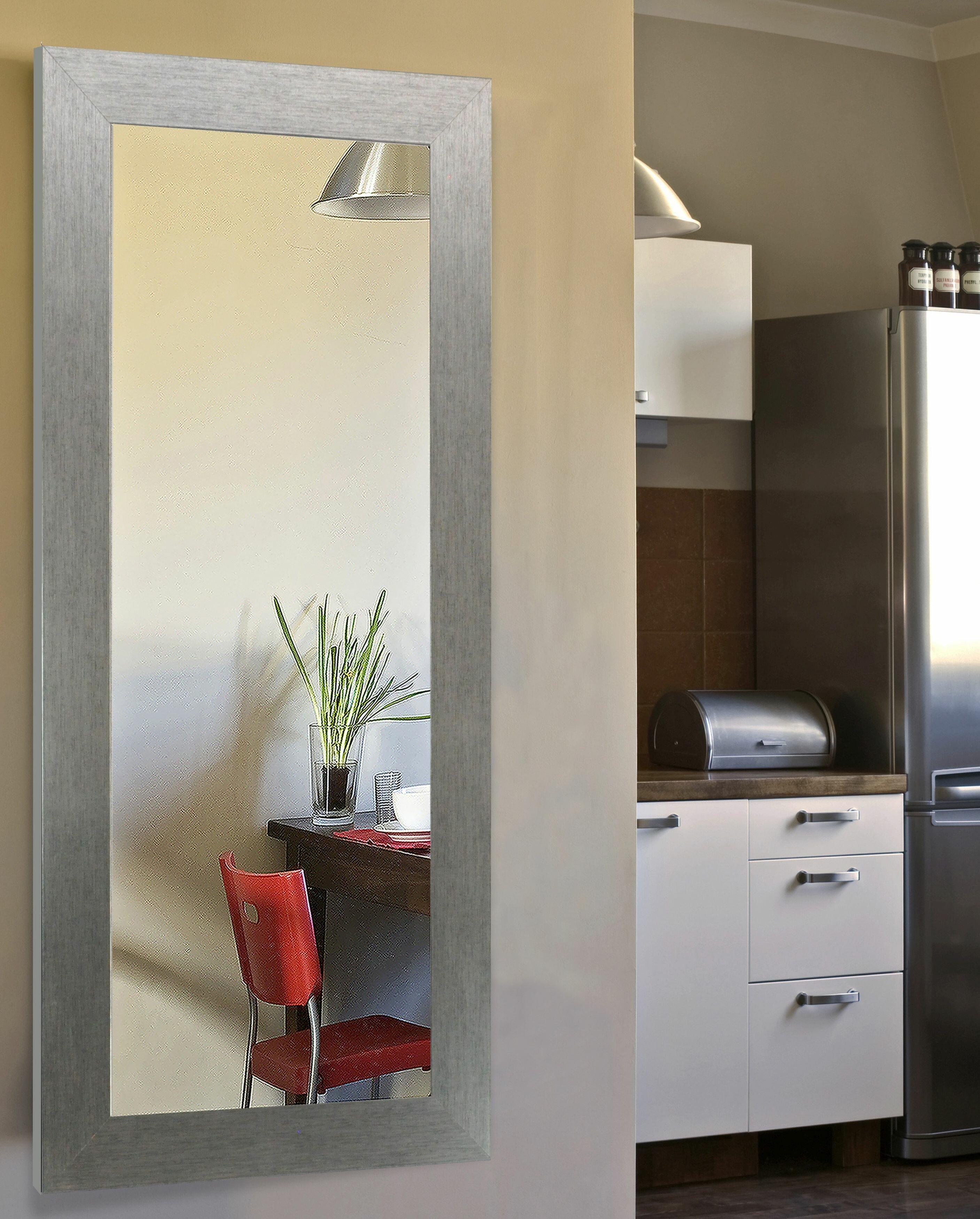 Rectangle Silver Full Length Mirror