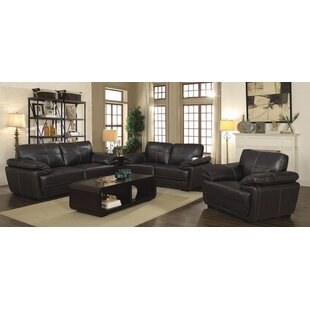 Munsell 3 Piece Living Room Set by Red Barrel Studio