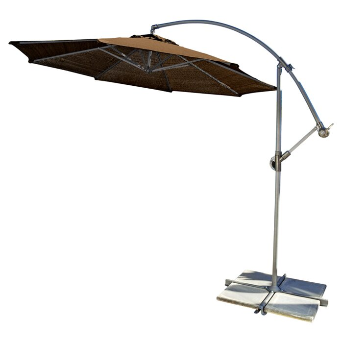 The Coolaroo 10 Cantilever Umbrella Is Perfect For Large Outdoor Es That Need Some Shade Its Design Both Stylish And Effective