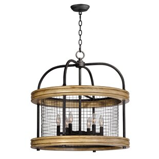 Haffey 6-Light Lantern Pendant by Willist..