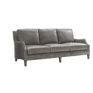 Oyster Bay Ashton Leather Sofa by Lexington