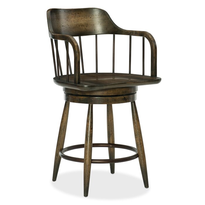 Tremendous American Life Crafted Counter Adjustable Height Swivel Bar Stool Alphanode Cool Chair Designs And Ideas Alphanodeonline