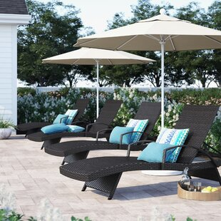 Rebello Chaise Lounge (Set of 4) by Sol 72 Outdoor