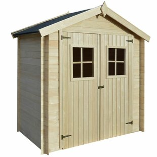 D Barn Gambrel Wooden Shed