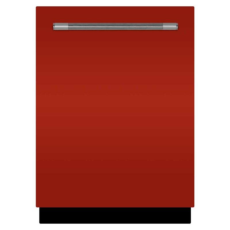 "AGA Mercury 24"" 48 dBA Built-in Dishwasher  Finish: Scarlet"