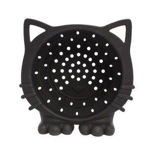 Cat Collapsible Silicone Colander By Streamline