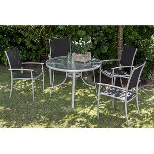 Sachso 4 Seater Dining Set By Sol 72 Outdoor