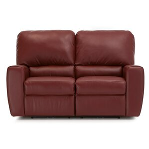 San Francisco Leather Reclining Loveseat by ..