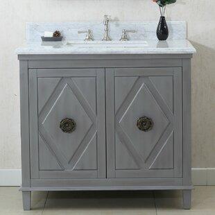 Superior 36 Single Bathroom Vanity Set by Bungalow Rose