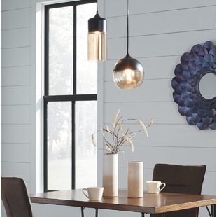 Wrought Studio Bingen Glas..