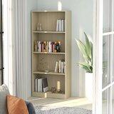 Antonnette 55.9 H x 23.6 W Standard Bookcase by Latitude Run®