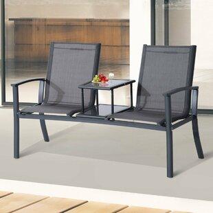 Aluminium Love Seat By Sol 72 Outdoor
