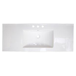 Review Roxy Drop-in 48 Single Bathroom Vanity Top by American Imaginations