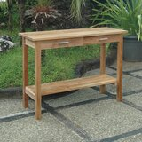 Modena Solid Wood Bar Table