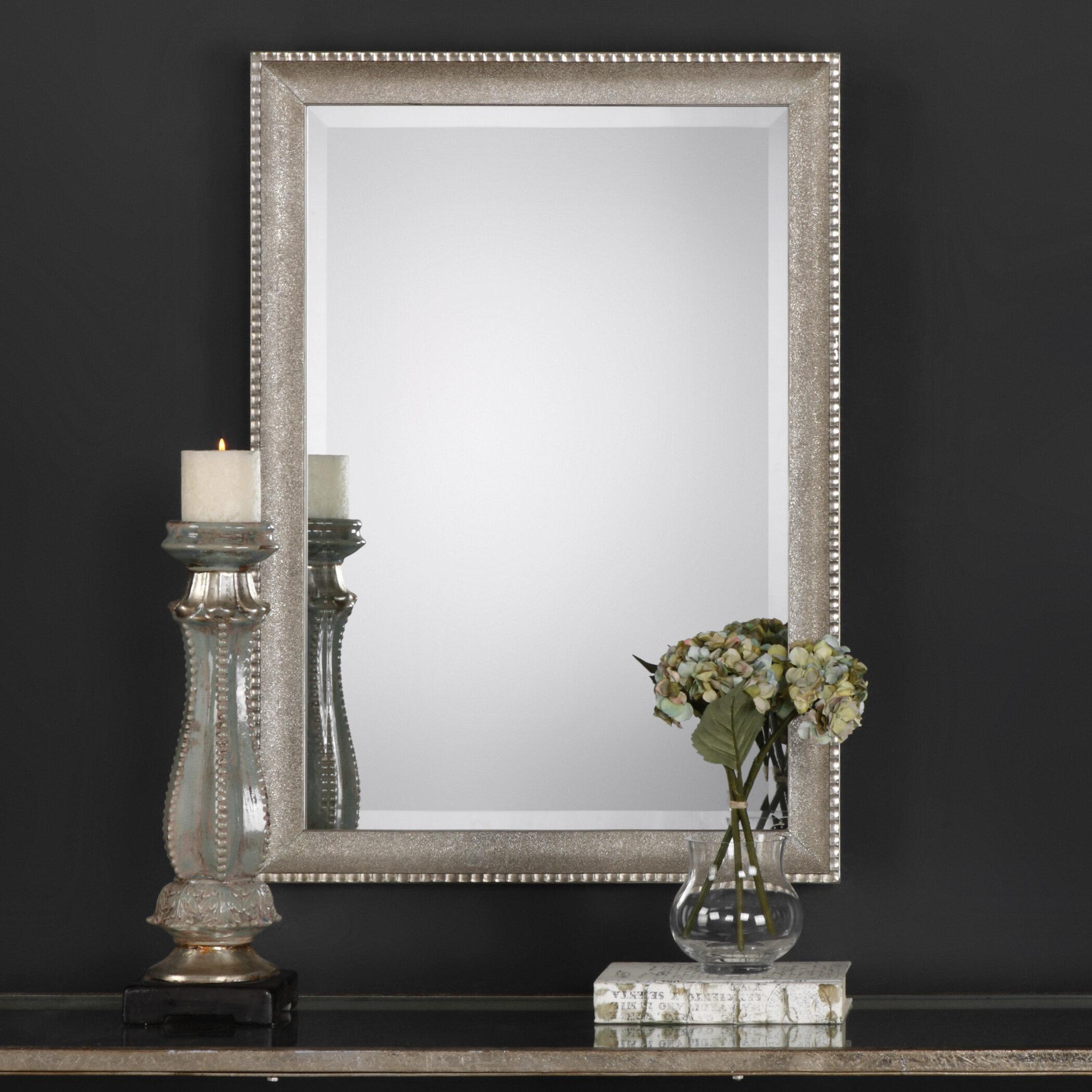 House Of Hampton Harrietta Rectangle Framed Accent Mirror Reviews Wayfair
