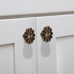Cosmo Flower Cabinet Novelty Knob (Set of 8)