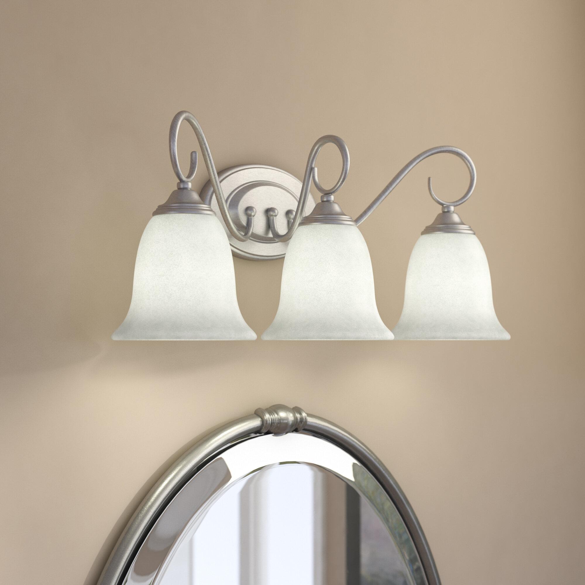 Charlton Home Tuthill 3 Light Vanity