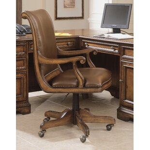 Brookhaven Genuine Leather Bankers Chair by Hooker Furniture