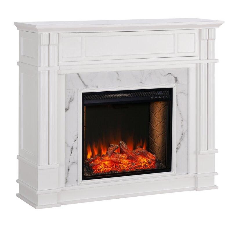 Latitude Run Highgate Alexa Enabled Media Fireplace
