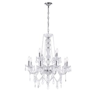 Astoria Grand Yigal 12-Light Chandelier