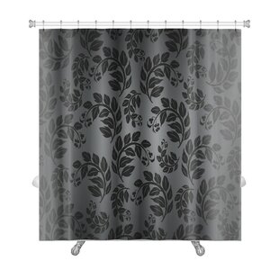 Cappa Beautiful Nature Leaf Pattern Premium Single Shower Curtain