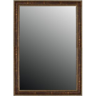 Price comparison Greco Roman Beaded Weathered Copper Wall Mirror BySecond Look Mirrors
