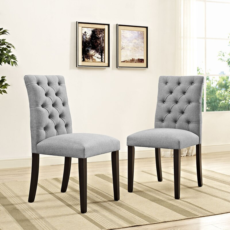 Dining Chairs In Living Room. Duchess Upholstered Dining Chair  Reviews Joss Main